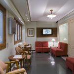 Sala de espera Clínica Casas